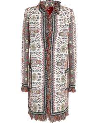 Talitha - Cotton And Silk-blend Jacquard Jacket - Lyst