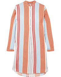 Paul & Joe Striped Woven Shirt Multicolor - Rojo