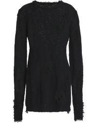 Dodo Bar Or - Distressed Cotton-blend Sweater - Lyst
