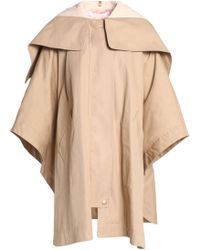 See By Chloé - Cotton-gabarine Hooded Jacket - Lyst