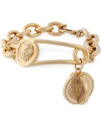 Versus - Gold-tone Bracelet - Lyst