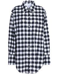 Sonia Rykiel - Gingham Fil Coupé Cotton-poplin Shirt - Lyst