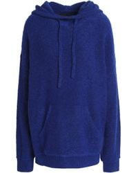 a5bbc65b41 By Malene Birger - Woman Knitted Hooded Jumper Royal Blue - Lyst