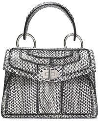 Proenza Schouler - Hava Elaphe Shoulder Bag - Lyst