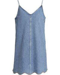M.i.h Jeans - Mini Mid Denim - Lyst