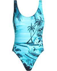 Orlebar Brown - Printed Swimsuit - Lyst