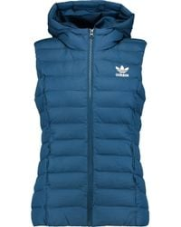 adidas Originals - Quilted Shell Gilet - Lyst
