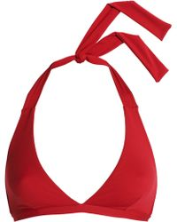 I.D Sarrieri - Triangle Bikini Top - Lyst