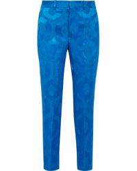 Isabel Marant - Syd Satin-jacquard Tapered Pants - Lyst
