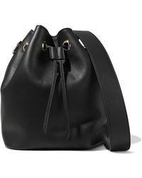 Iris & Ink - Leather Bucket Bag - Lyst