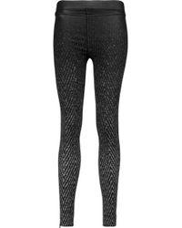 Rag & Bone - Lawson Printed Stretch-jersey Leggings - Lyst