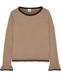 Iris & Ink - Lea Wool-blend Sweater - Lyst