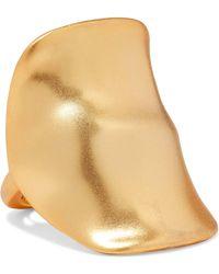 Kenneth Jay Lane - Gold-tone Ring - Lyst