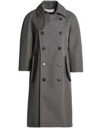 Marni - Double-breasted Cotton-canvas Trench Coat - Lyst