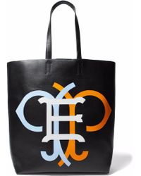 Emilio Pucci - Printed Leather Tote - Lyst