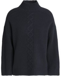 Goat - Cable-knit Wool-blend Jumper - Lyst