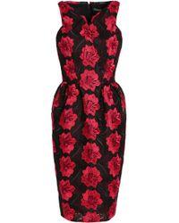 Zac Posen - Flared Guipure Lace Dress - Lyst