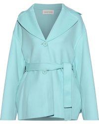 Mansur Gavriel - Belted Wool And Cashmere-blend Coat - Lyst