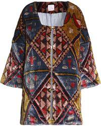 Stella Jean - Printed Chenille Jacket - Lyst