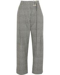 Ellery - Kool Aid Prince Of Wales Checked Wool Straight-leg Pants - Lyst