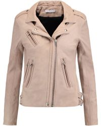 IRO - Hanhan Leather Biker Jacket - Lyst