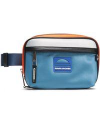 Marc Jacobs - Woman Color-block Satin Belt Bag Bright Orange - Lyst