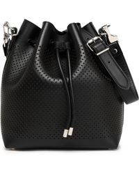 Proenza Schouler - Perforated Leather Bucket Bag - Lyst