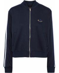 Markus Lupfer - Charlotte Appliquéd Jersey Jacket - Lyst