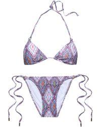 Melissa Odabash - Key West Crocheted Triangle Bikini Top - Lyst