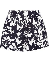 Alexis - Carrie Printed Twill Shorts - Lyst