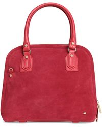 Halston - Suede Tote - Lyst