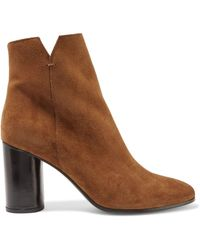 Maje - Foly Suede Ankle Boots - Lyst
