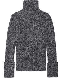 JOSEPH - Mélange Wool-blend Turtleneck Sweater - Lyst