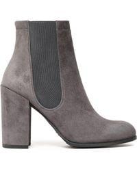 Stuart Weitzman - Suede Ankle Boots - Lyst