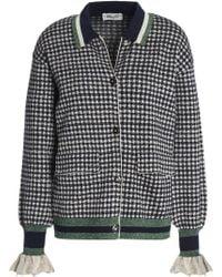 Baum und Pferdgarten - Christie Metallic Stretch-knit Jacket - Lyst