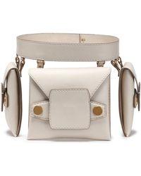 Stella McCartney - Faux Leather Belt Bag - Lyst