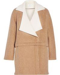 Tanya Taylor - Bernadette Convertible Wool-blend Coat - Lyst