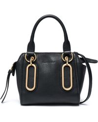 See By Chloé - Paige Mini Pebbled-leather Shoulder Bag - Lyst