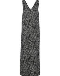 Marni - Printed Crepe Maxi Dress - Lyst
