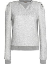Adam Lippes - Mélange Stretch-jersey Sweatshirt - Lyst