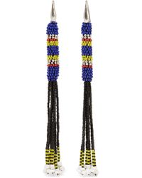 Isabel Marant - Tassled Beaded Earrings - Lyst