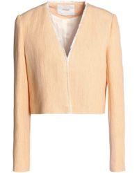 Maje - Frayed Gauze Jacket - Lyst