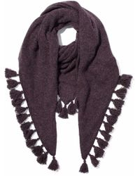Autumn Cashmere - Tasseled Donegal Cashmere Scarf - Lyst