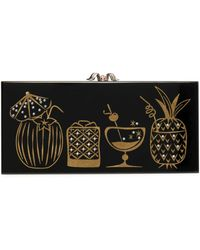 Charlotte Olympia - Drink Up Penelope! Embellished Perspex Clutch - Lyst
