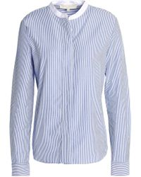 Vanessa Bruno - Striped Cotton-poplin Shirt - Lyst