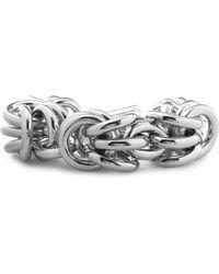 Alexander Wang - Silver-tone Chain Bracelet - Lyst