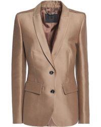 Belstaff - Ashden Cotton And Silk-blend Twill Blazer - Lyst