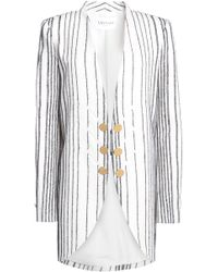 Vionnet - Embroidered Wool-blend Jacket - Lyst