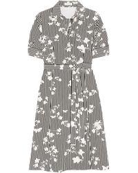 Altuzarra - Kieran Printed Silk Crepe De Chine Shirt Dress - Lyst