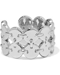Luv Aj - Double Disco Fever Silver-tone Ring - Lyst